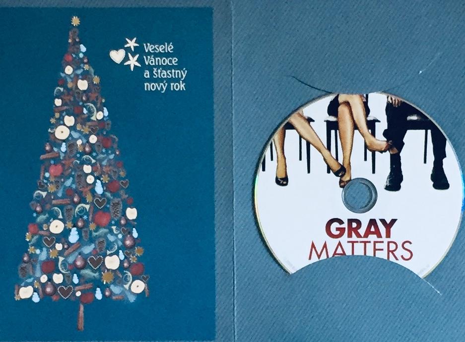 Gray Matters / Ta záležitost s Gray - DVD /dárkový obal/