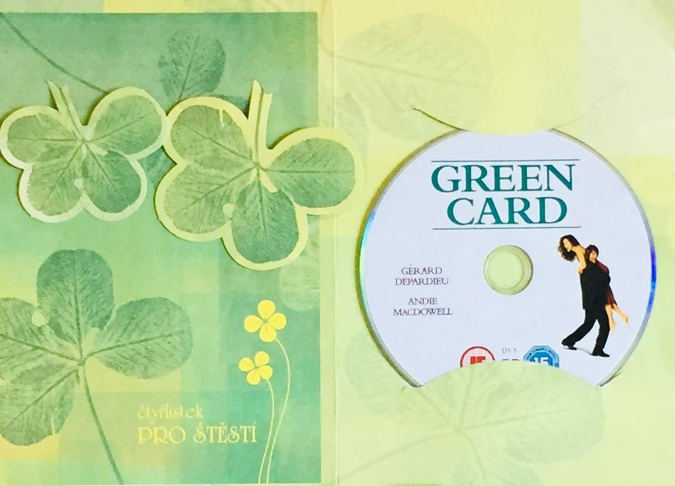 Green Card / Zelená karta - DVD /dárkový obal/