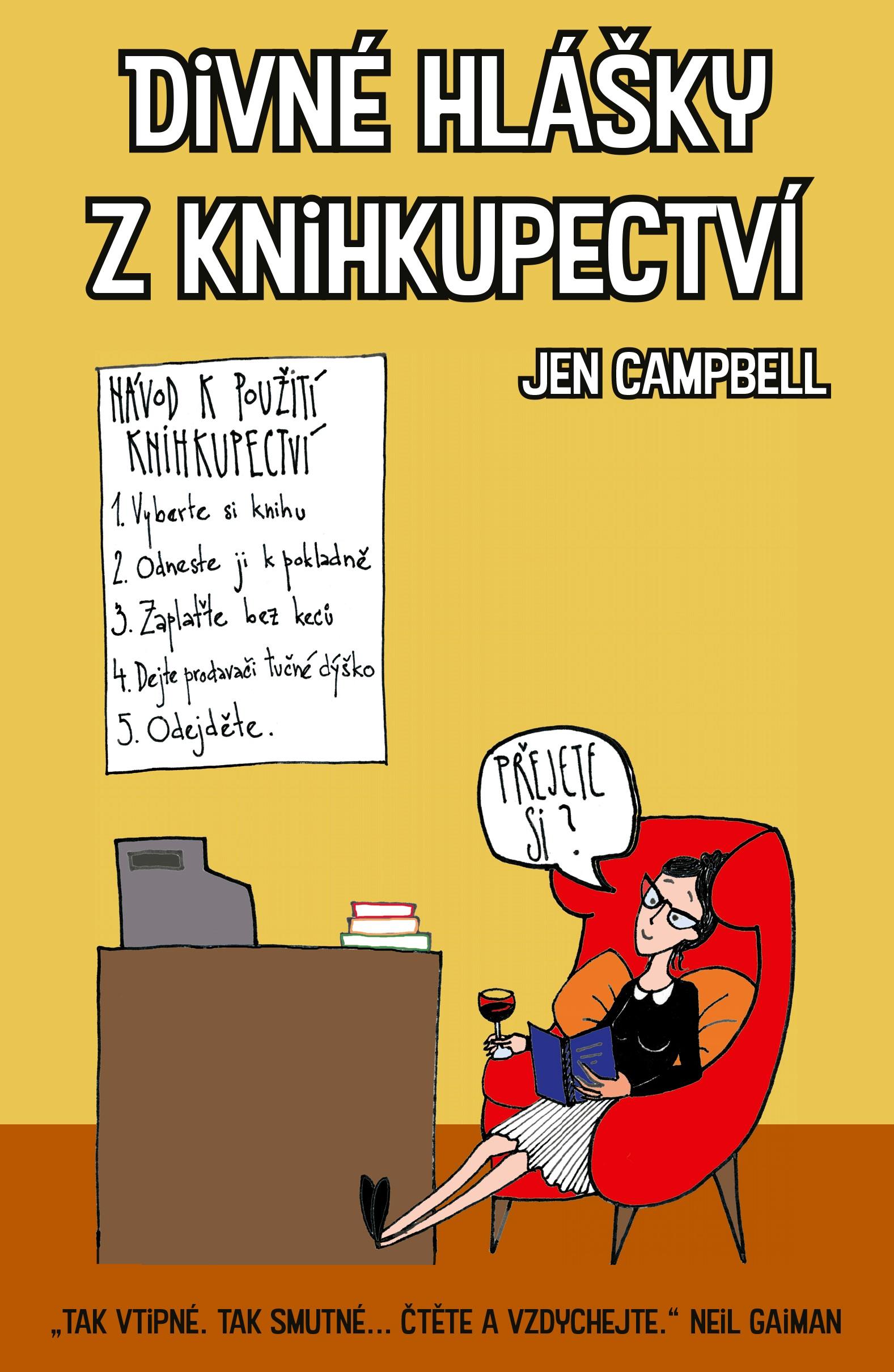 Divné hlášky z knihkupectví - Jen Campbellová