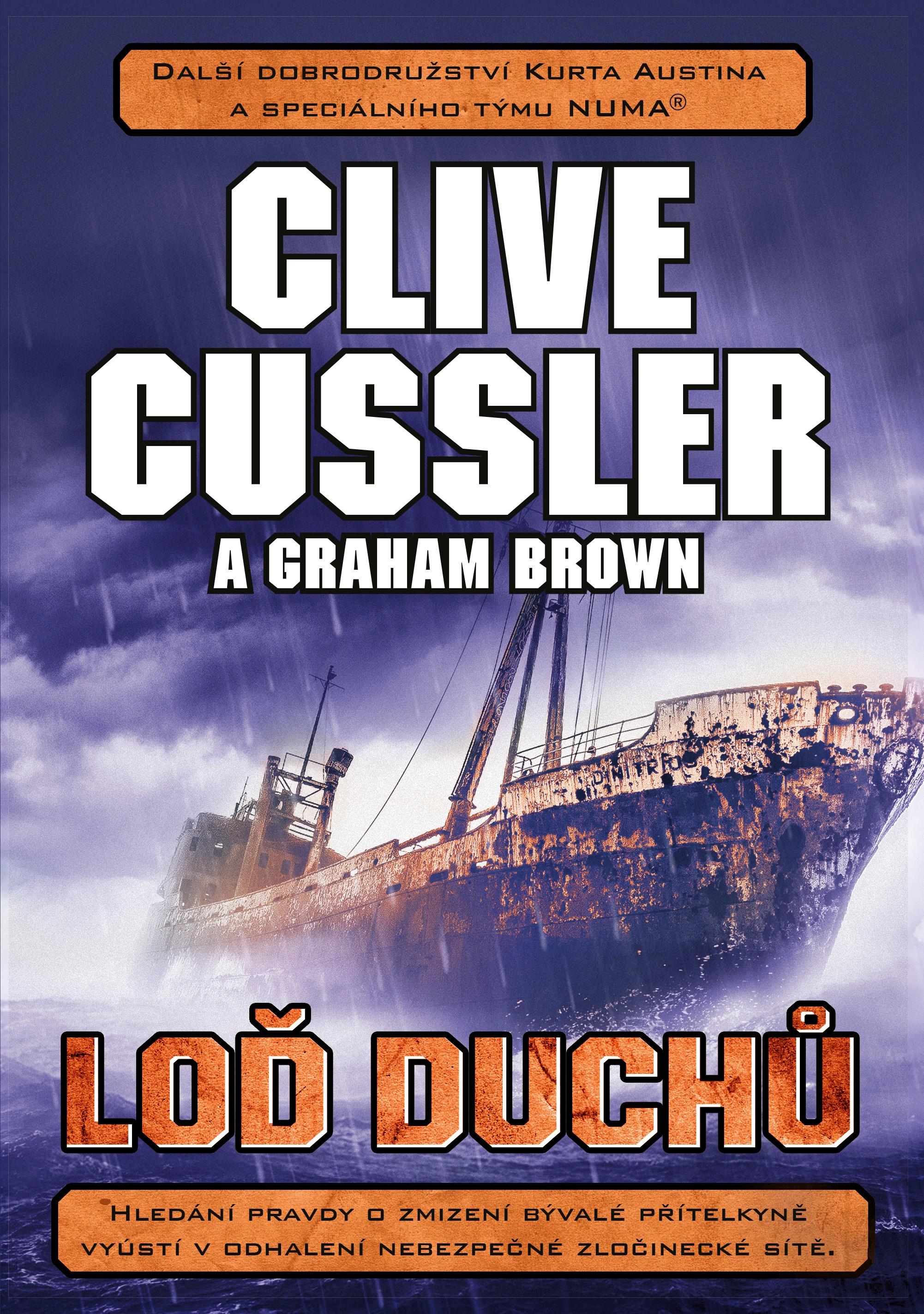 Loď duchů - Clive Cussler a Graham Brown