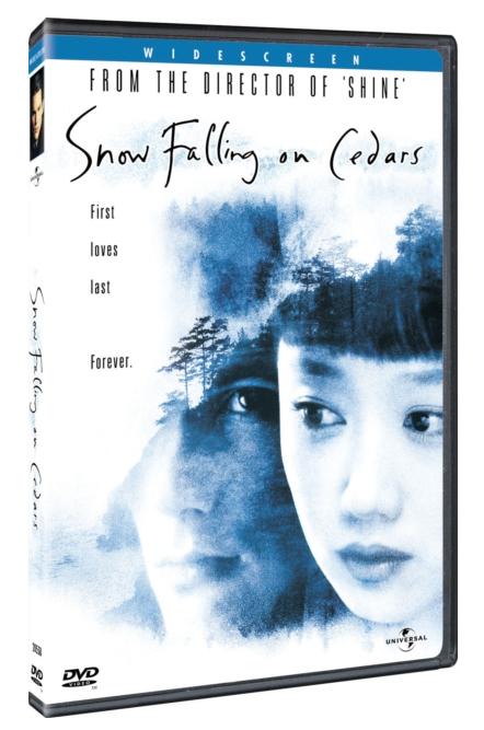 Snow Falling on Cedars / Sníh padá na cedry - v originálním znění s CZ titulky - DVD /plast/