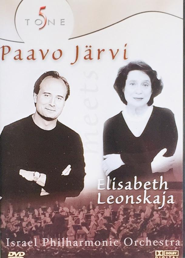 Paavo Järví a Elisabeth Leonskaja - DVD /plast/
