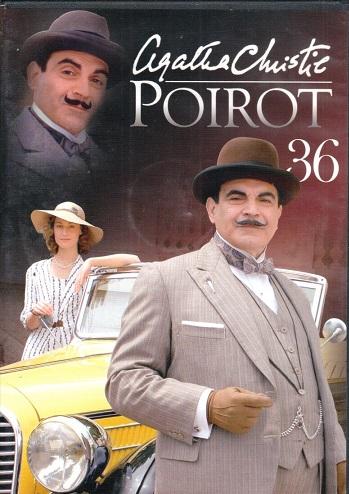Poirot 36 ( zvuk český ) - DVD