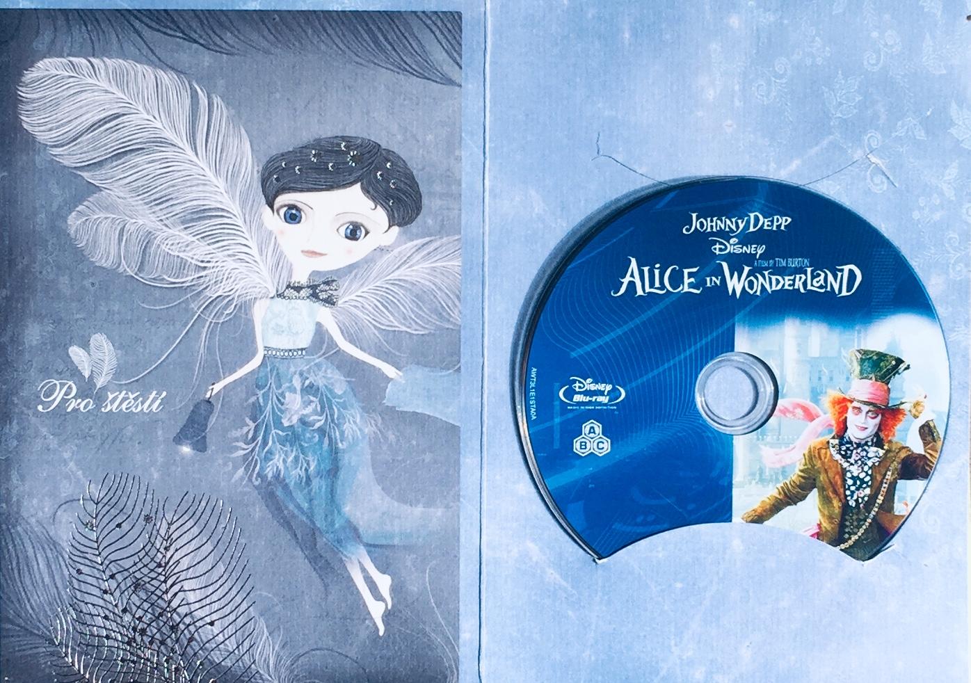Alenka v říši divů - Blu-ray Disc /dárkový obal/