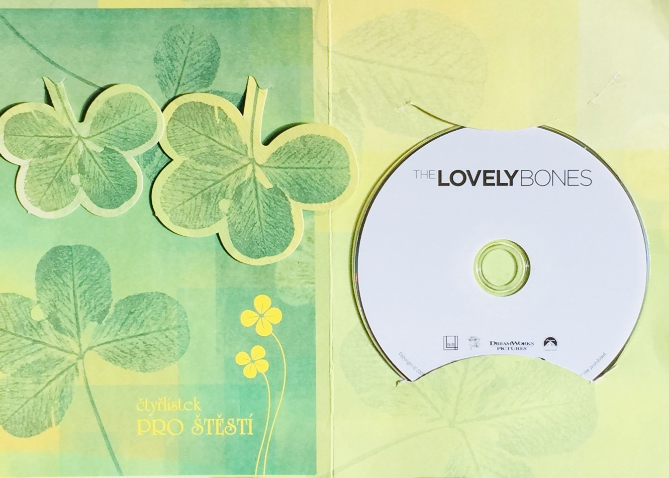 The Lovely Bones / Pevné pouto - Blu-ray Disc /dárkový obal/