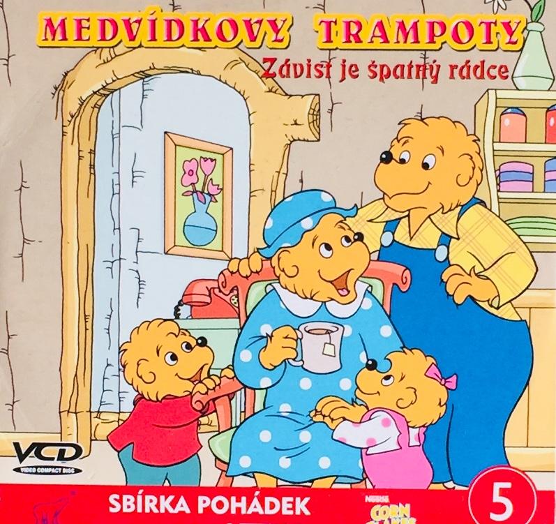 Medvídkovy trampoty - PC - VCD disk /pošetka malá/