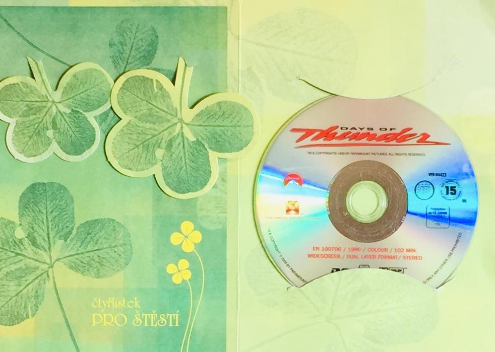 Days of Thunder /Bouřlivé dny - DVD /dárkový obal/bazarové zboží/