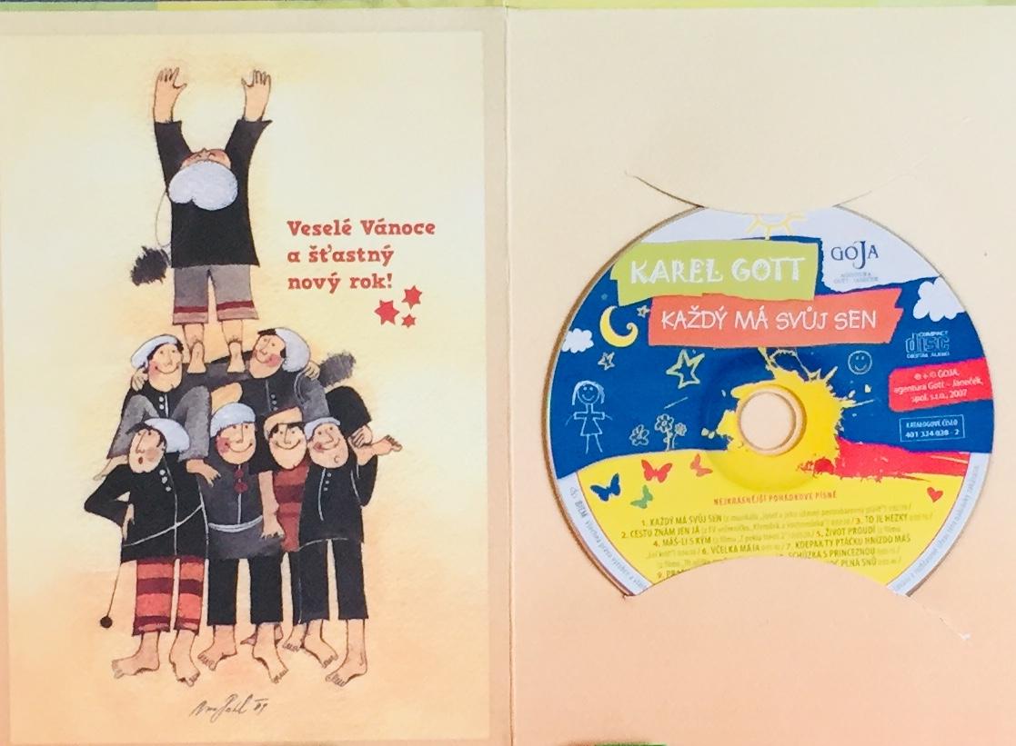 Karel Gott - Každý má svůj sen - CD /dárkový obal/