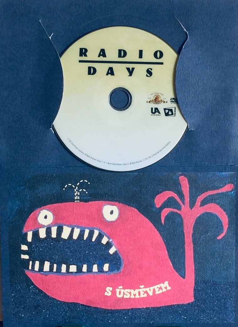 Radio Days / Zlaté časy rádia - DVD /dárkový obal/