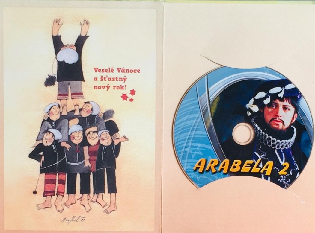 Arabela 2 - DVD /dárkový obal/