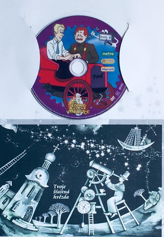 Byl jednou jeden vynálezce 5 - DVD /dárkový obal/