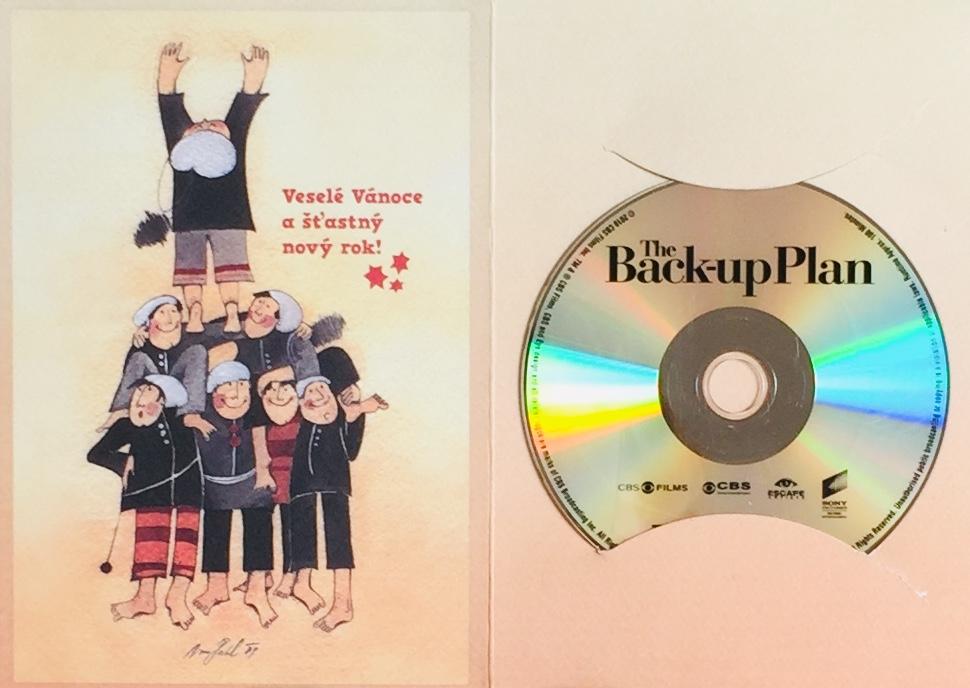 The Back-up Plan / Záložní plán - DVD /dárkový obal/