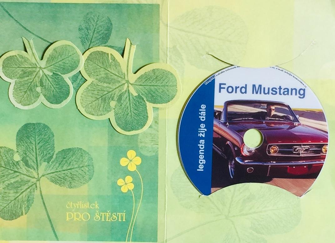 Ford Mustang - Legenda žije dále - DVD /dárkový obal/