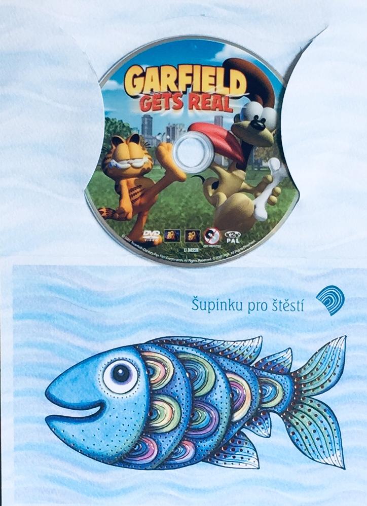 Garfield gets real / Garfield šokuje - DVD /dárkový obal/
