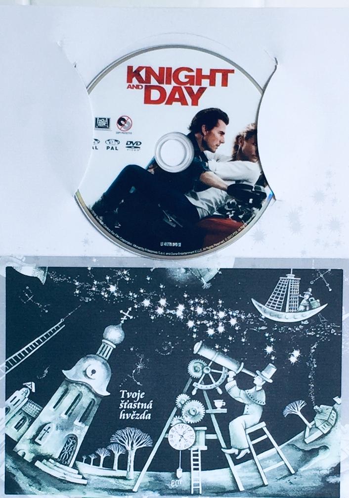Knight and Day /  Zatím spolu, zatím živi - DVD /dárkový obal/