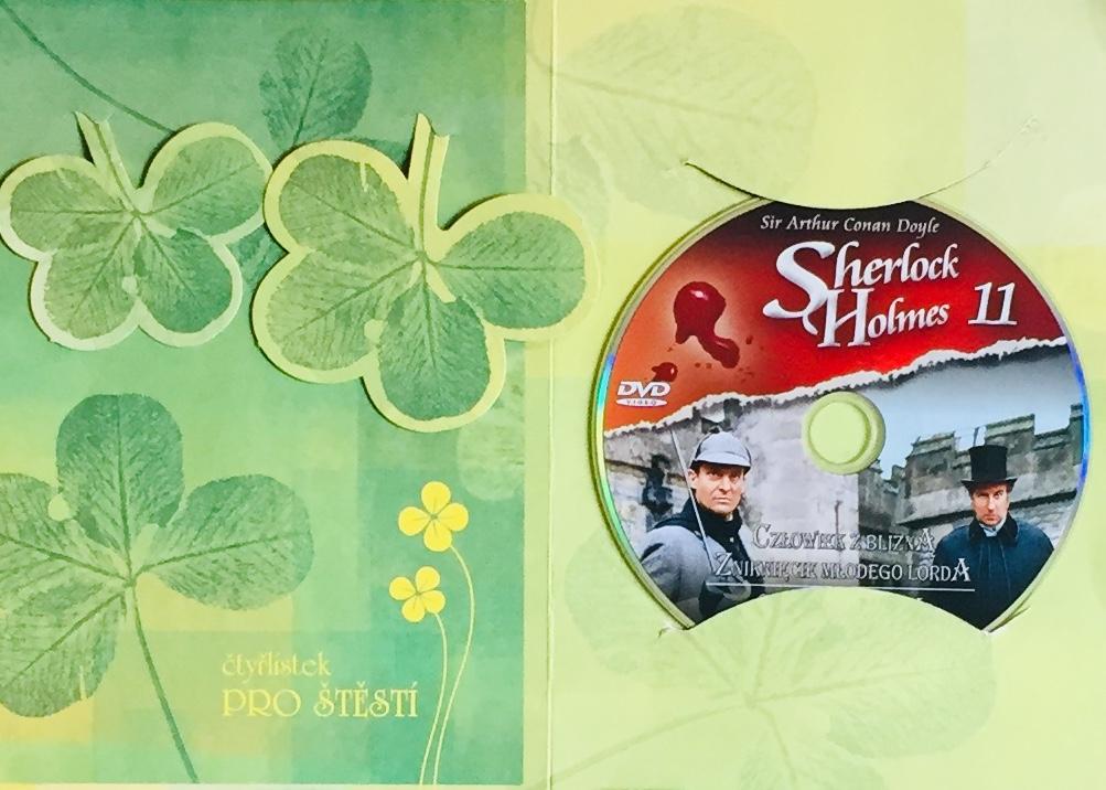 Sherlock Holmes 11 - Ohyzdný žebrák / Škola v Priory - DVD /dárkový obal/