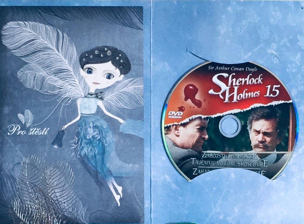 Sherlock Holmes 15 - Záhada na Thorském mostě / Na starém zámku v Shoscombe - DVD /dárkový obal/