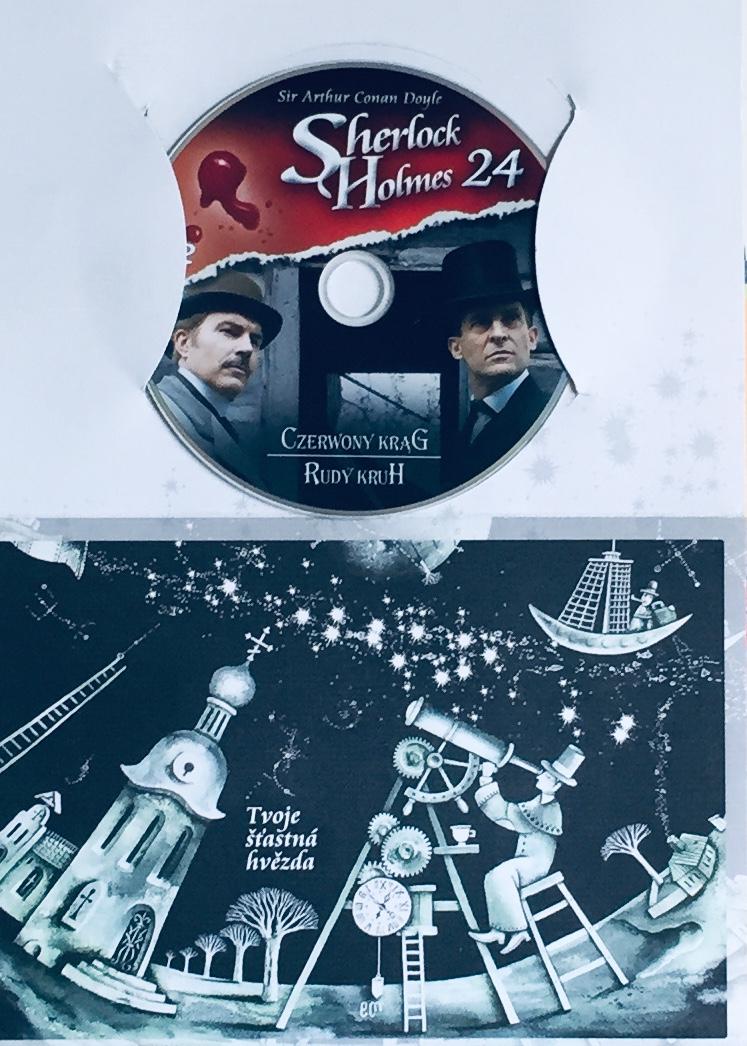 Sherlock Holmes 24 - Rudý kruh - DVD /dárkový obal/