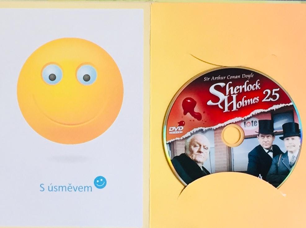 Sherlock Holmes 25 - Mazarinův drahokam - DVD /dárkový obal/
