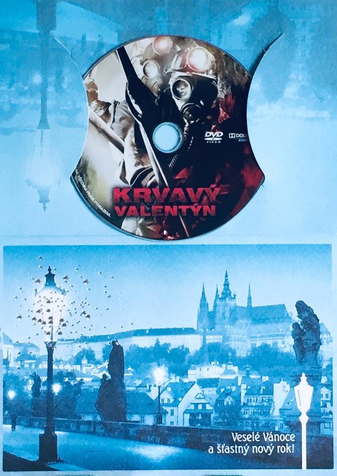 Krvavý Valentýn - DVD /dárkový obal/