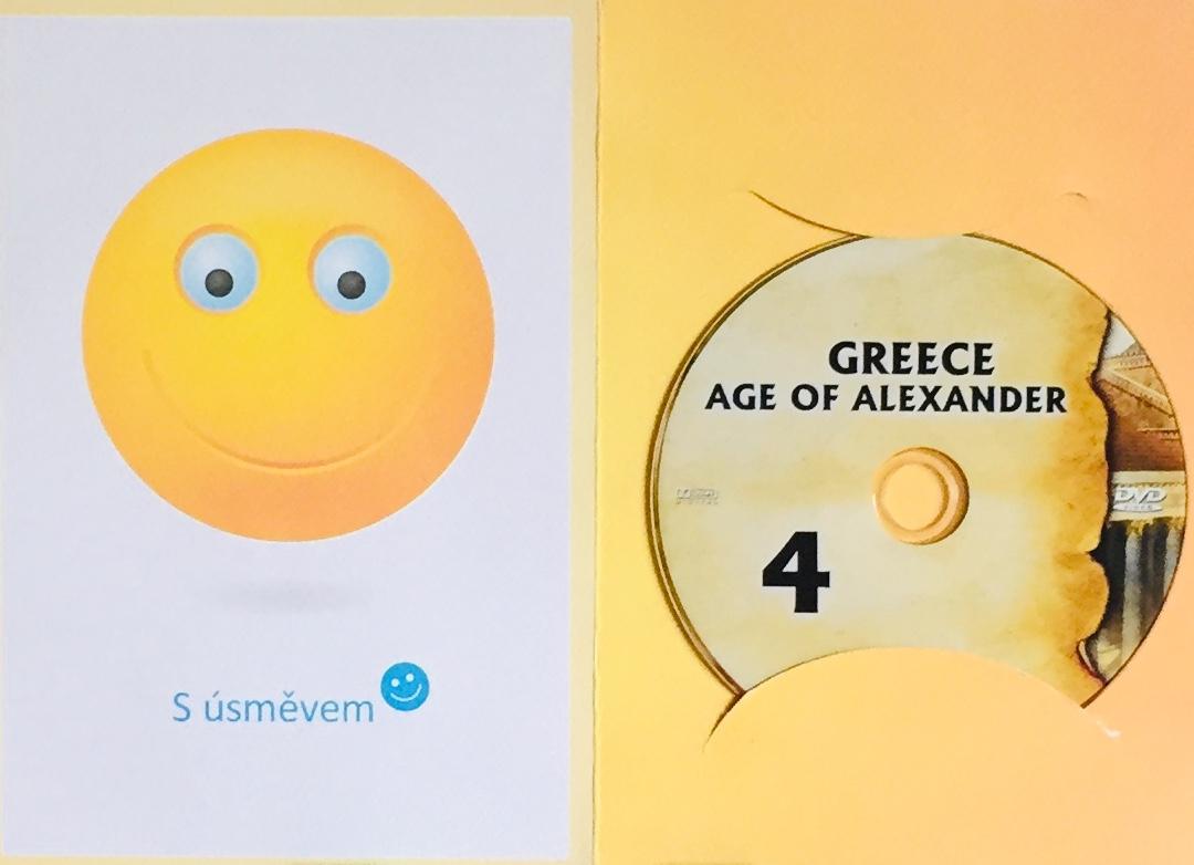 Greece - Age of Alexander / Budování říše 4 - Řecko - Doba Alexandra Velikého - DVD /dárkový obal/