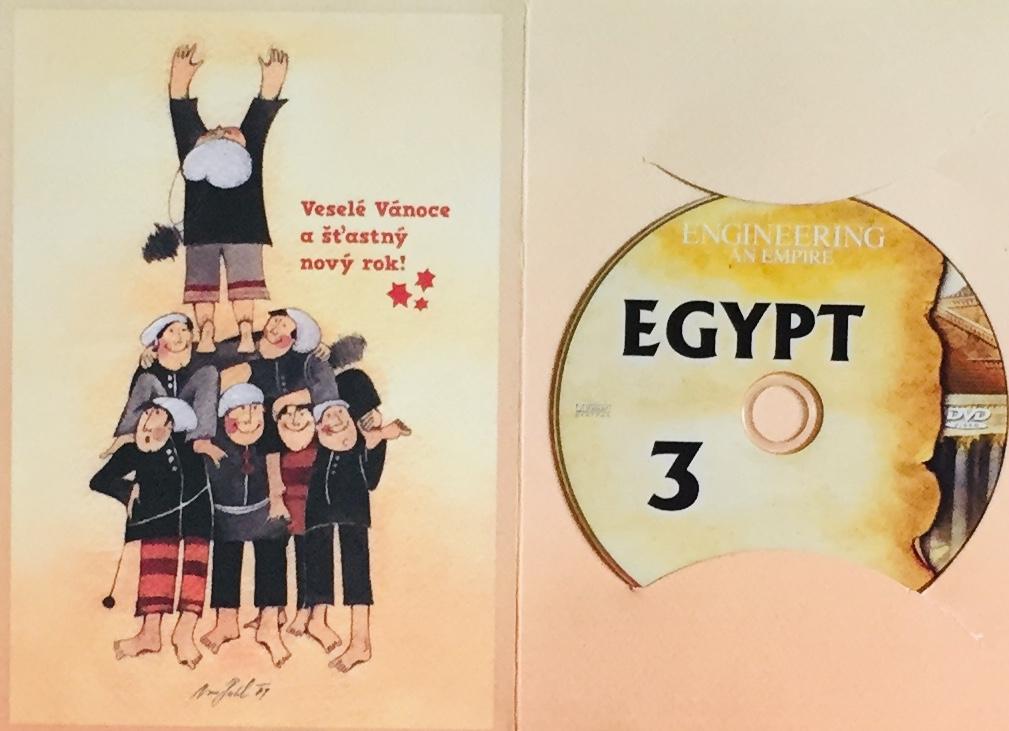 Engineering an Empire 3 - Egypt / Budování říše 3 - Egypt - DVD /dárkový obal/