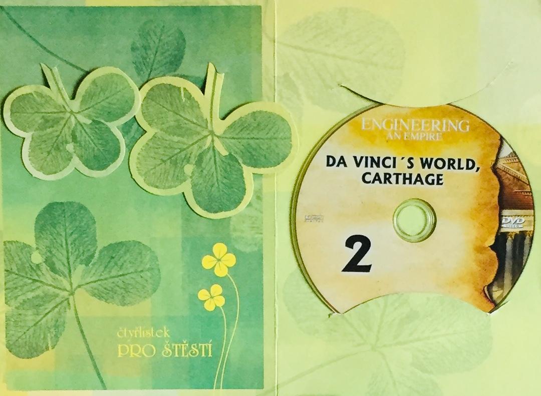Engineering an Empire 2 - Da Vinci's World, Carthage / Budování říše 2 - da Vinciho svět, Kartágo - DVD /dárkový obal/