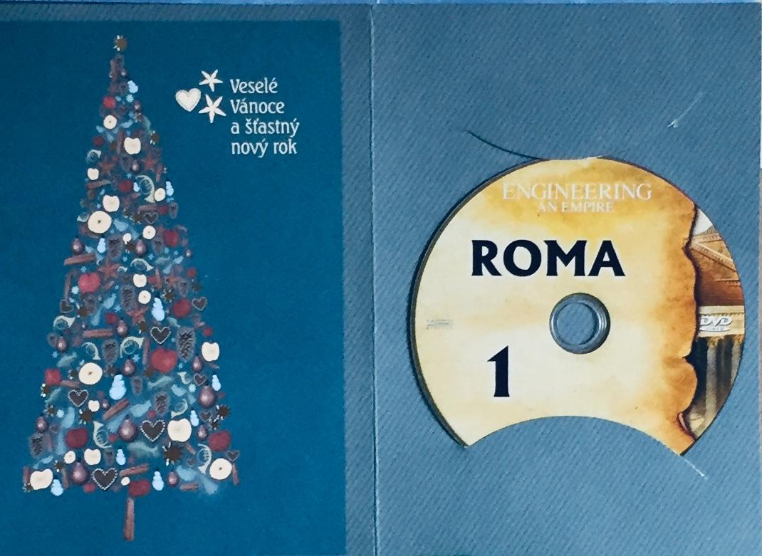 Engineering an Empire 1 - Roma / Budování říše 1 - Řím - DVD /dárkový obal/