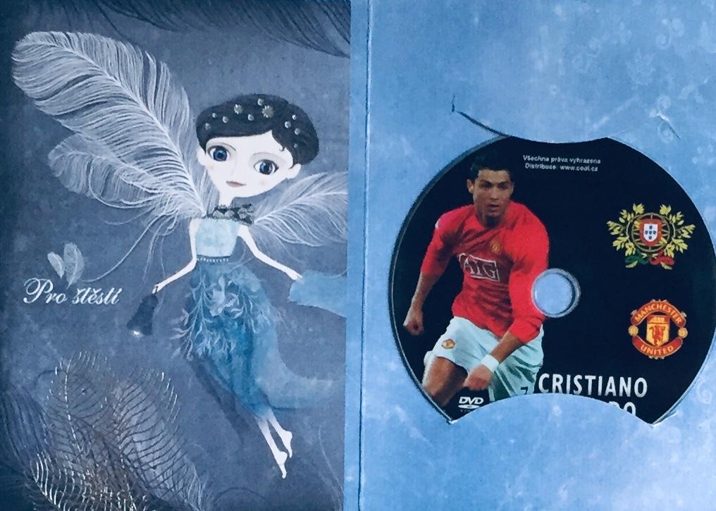 Cristiano Ronaldo - DVD /dárkový obal/