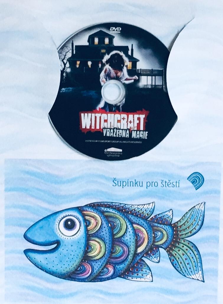 Witchcraft - vražedná magie - DVD /dárkový obal/