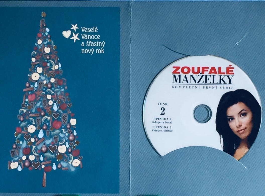 Zoufalé manželky - série 1 - Disk 2 - DVD /dárkový obal/