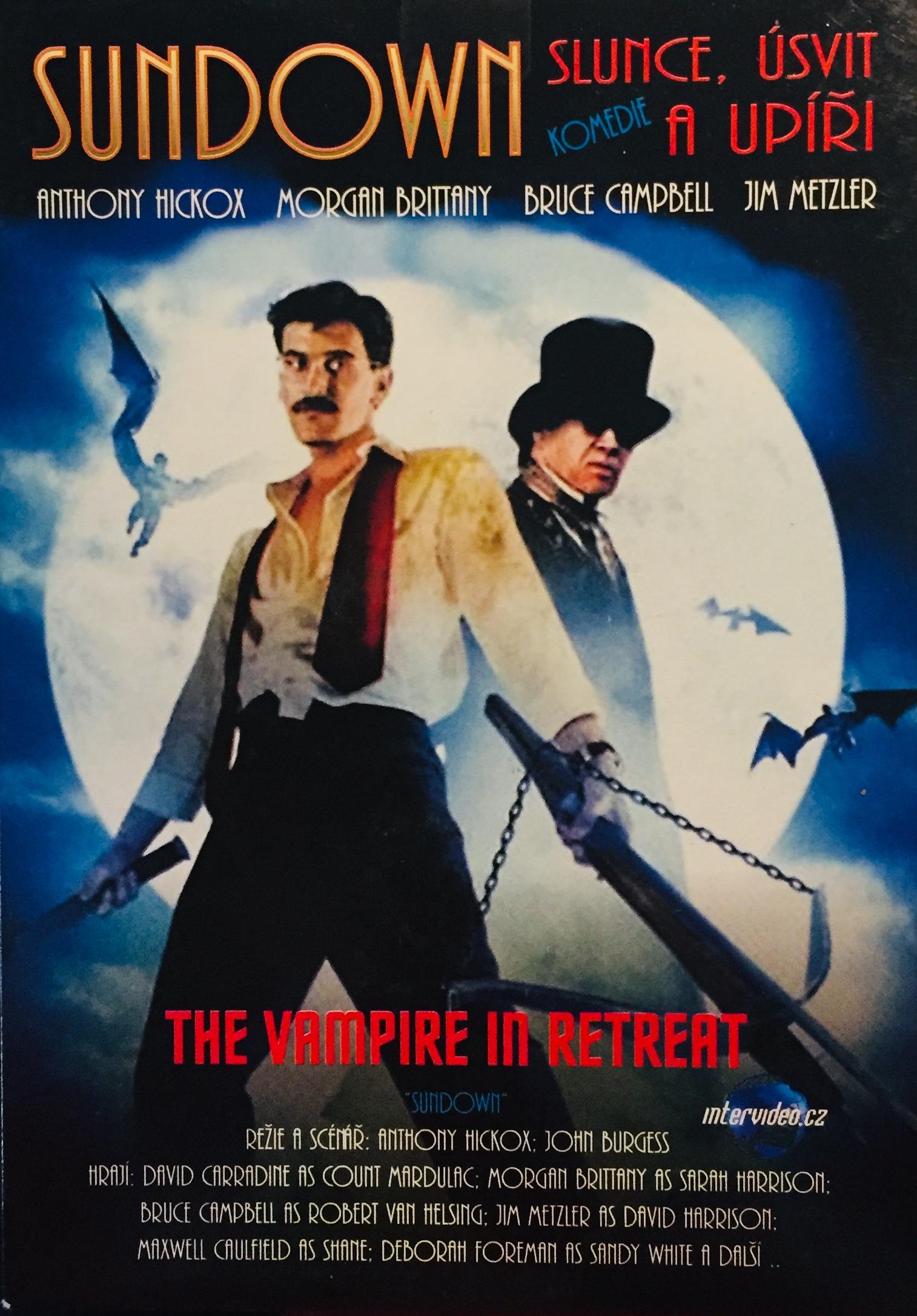 Sundown - The Vampire in Retreat / Slunce, úsvit a úpíři - DVD /pošetka/