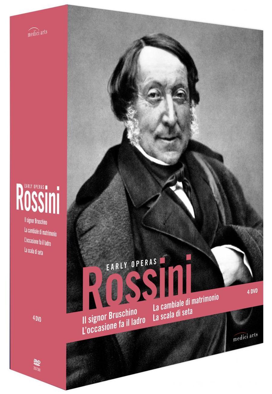 Rossini - Early Operas - 4xDVD /4xplast v šubru/