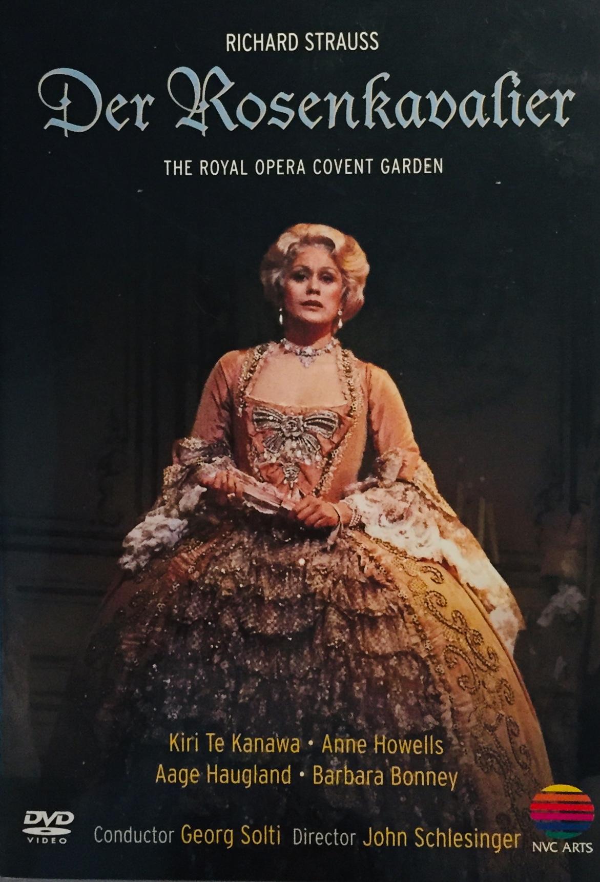 Richard Strauss - Der Rosenkavalier - DVD /plast/