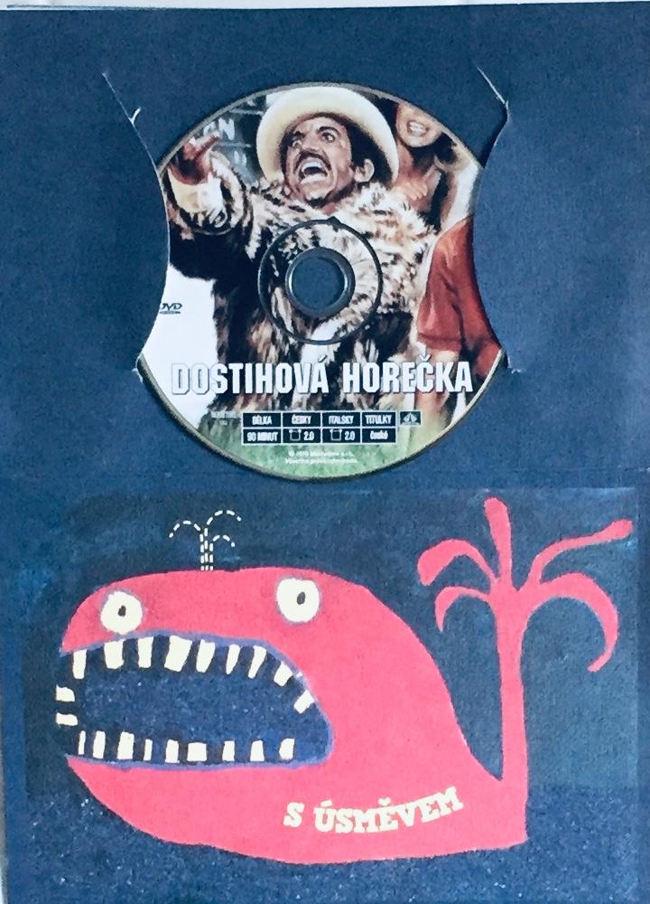 Dostihová horečka - DVD /dárkový obal/