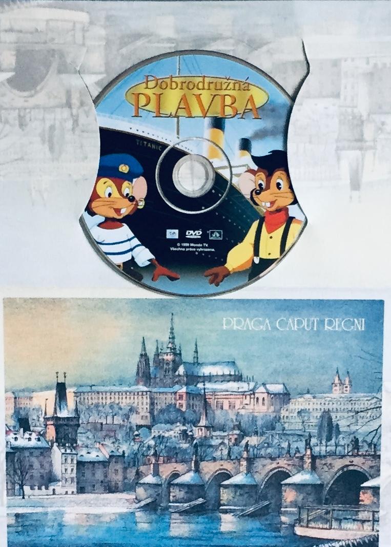 Dobrodružná plavba - DVD /dárkový obal/