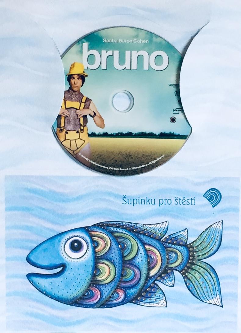 Bruno - DVD /dárkový obal/