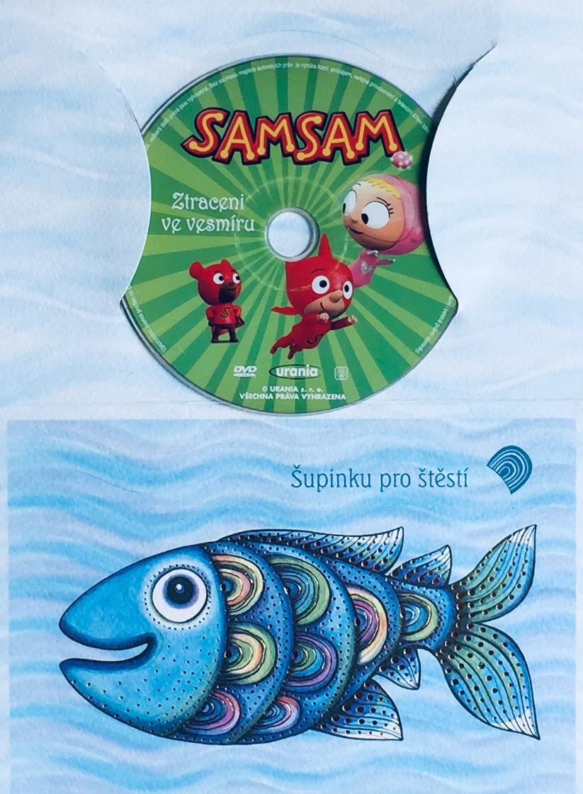 Samsam - Ztraceni ve vesmíru - DVD /dárkový obal/