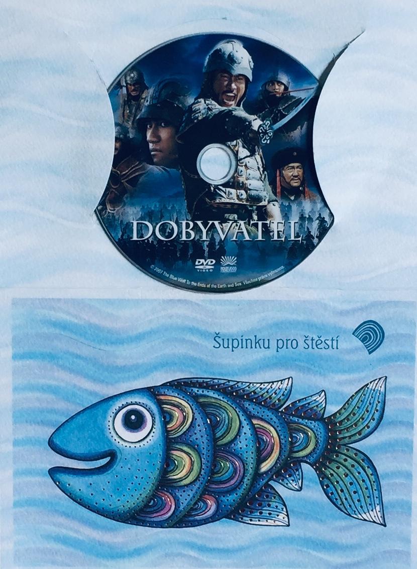Dobyvatel - DVD /dárkový obal/