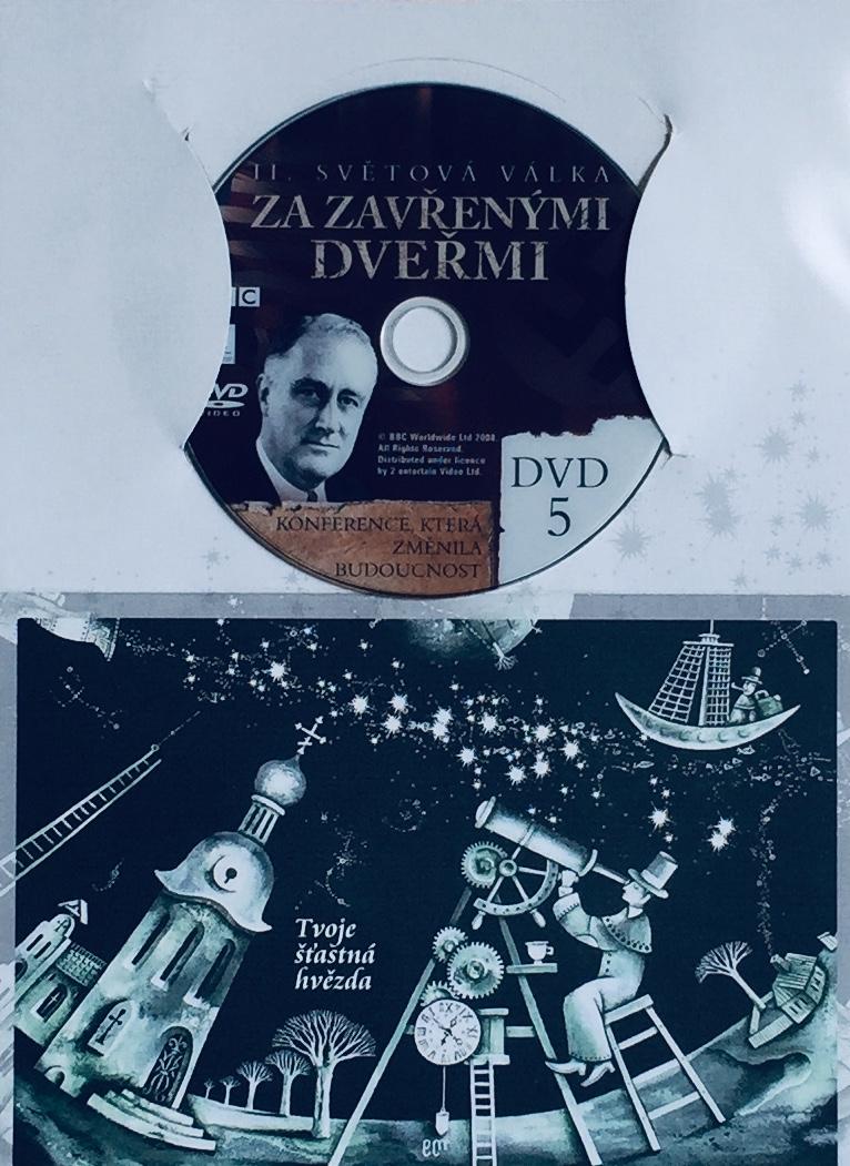 II. světová válka za zavřenými dveřmi 5 - DVD /dárkový obal/
