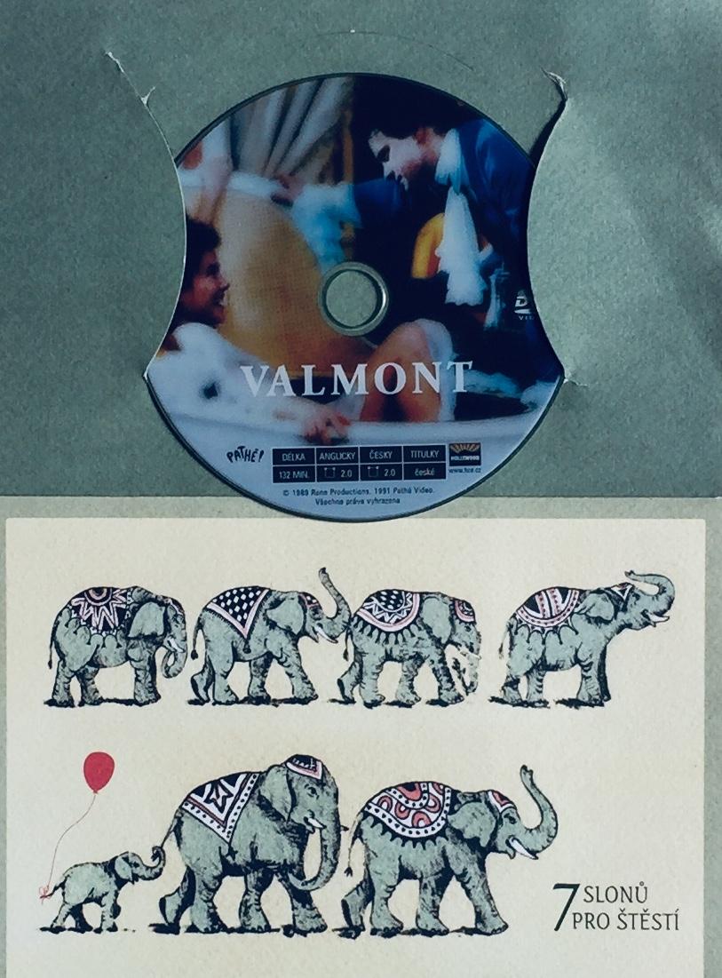 Valmont - DVD /dárkový obal/