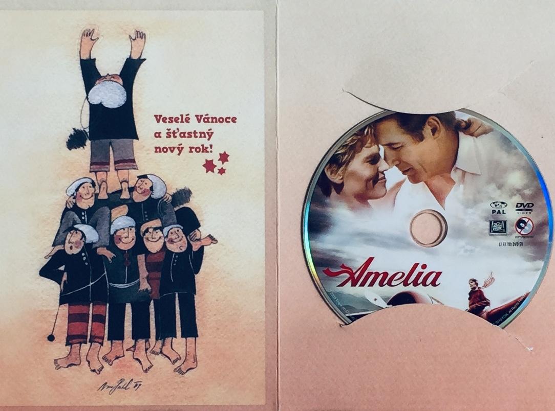 Amelia - DVD /dárkový obal/