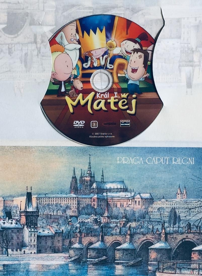 Král Matěj I. - DVD /dárkový obal/