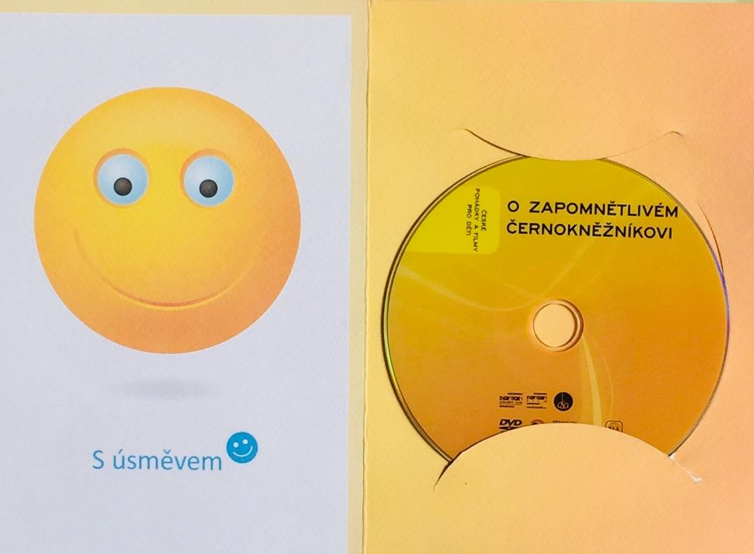 O zapomnětlivém černokněžníkovi - DVD /dárkový obal/