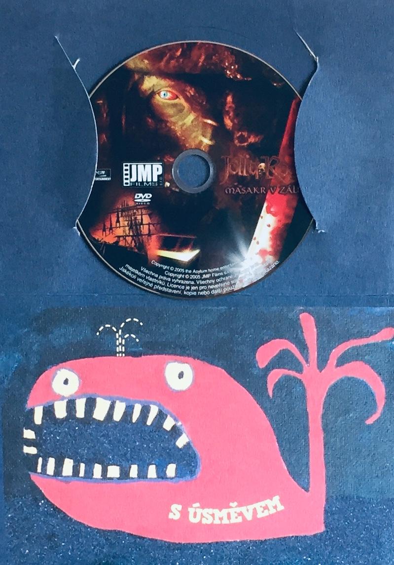 Jolly Roger - Masakr v zálivu - DVD /dárkový obal/