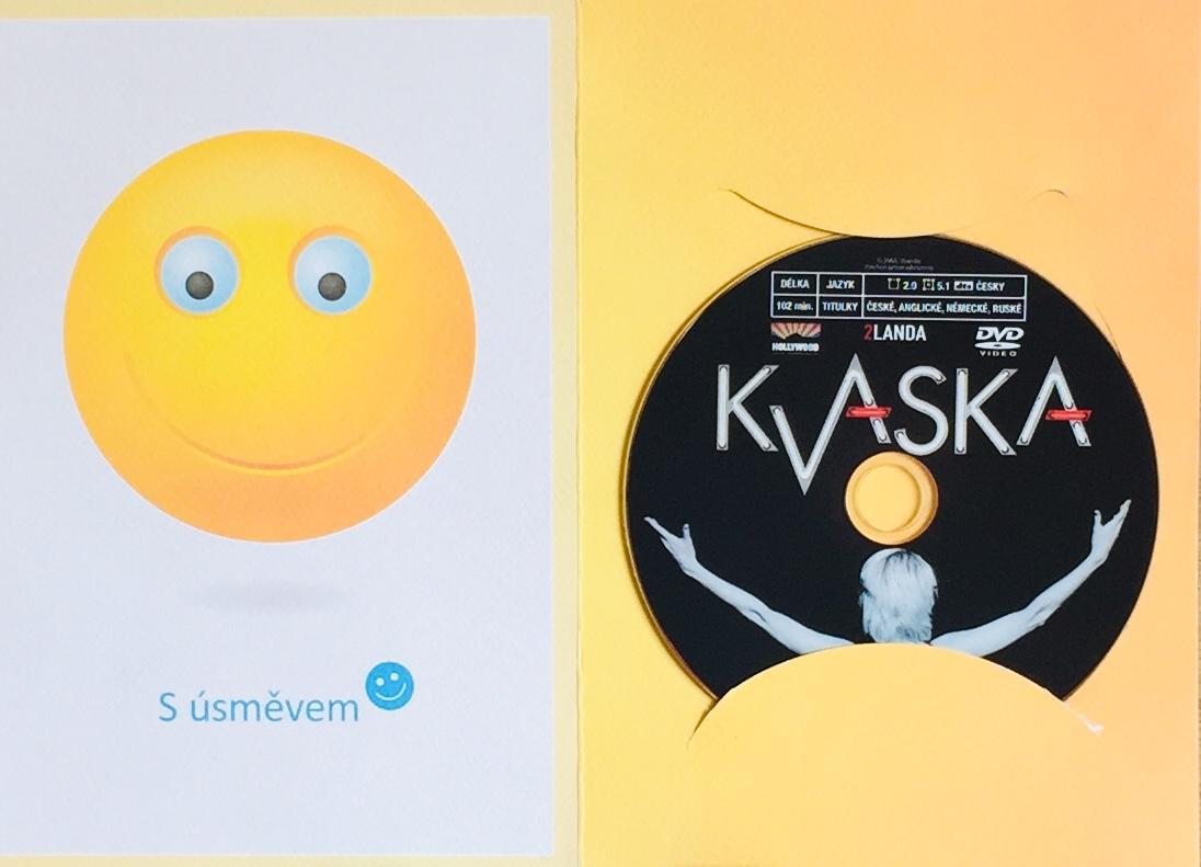 Kvaska - DVD /dárkový obal/