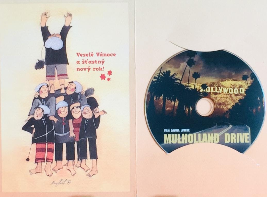 Mulholland Drive - DVD /dárkový obal/