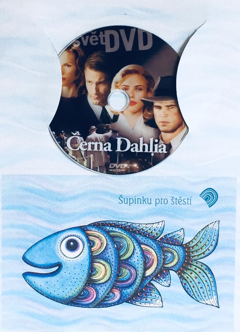 Černá Dahlia - DVD /dárkový obal/
