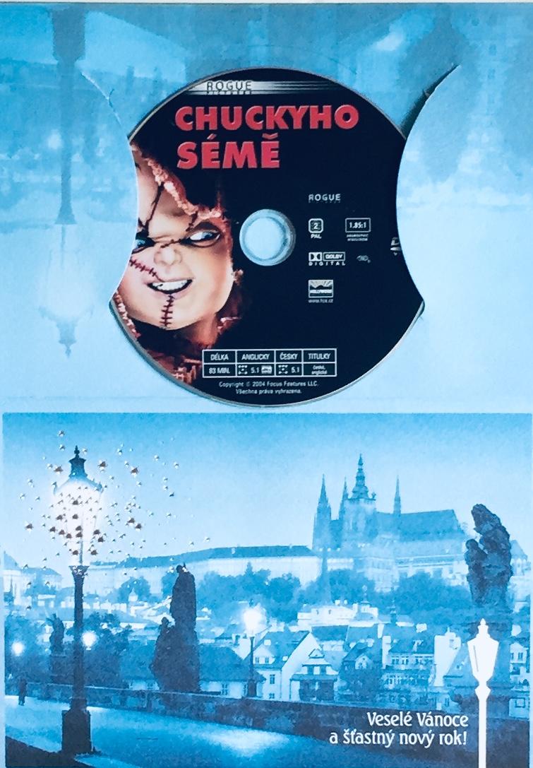 Chuckyho sémě - DVD /dárkový obal/