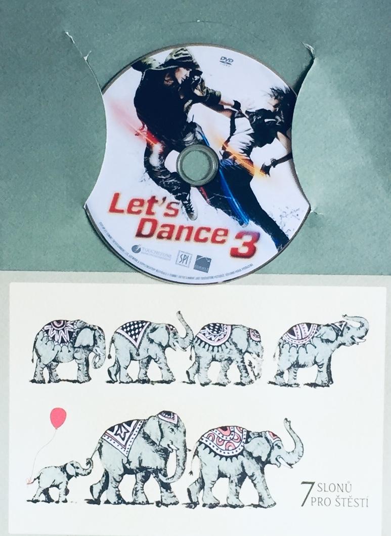 Let's Dance 3 - DVD /dárkový obal/